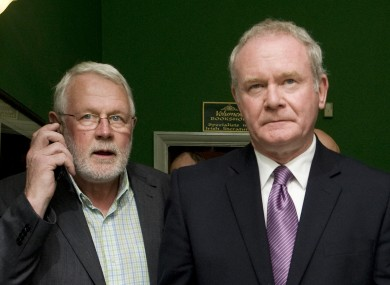 Senior Sinn Féin politicians including Martin Ferris and Martin McGuinness were convicted of IRA membership in the 1970s.