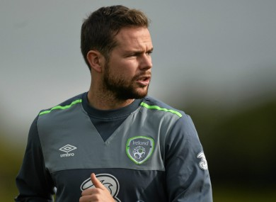 Alan Judge could be part of Ireland's Euro 2016 squad this summer.