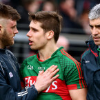 Cadogan checks on Keegan at full-time.<span class=