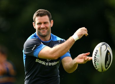 a day in the life leinster and ireland rugby player fergus mcfadden