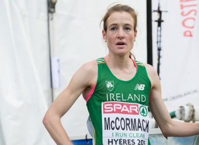 Ireland's Fionnuala McCormack (file pic).