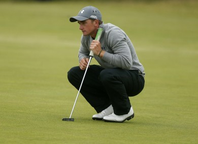 Dunne: four birdies and just one bogey on day one (file photo).