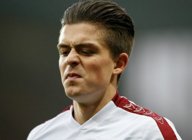 Jack Grealish returned to Aston Villa's first team in the FA Cup last night.