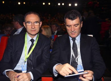 O'Neill with assistant Keane.