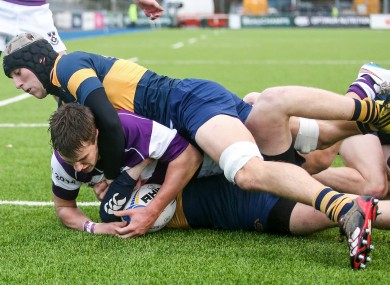Miles O'Connor scored early in the second half as Clongowes took control.