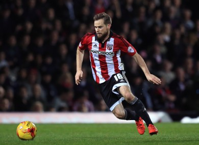 O'Neill intends to get a better look at Brentford's Alan Judge.