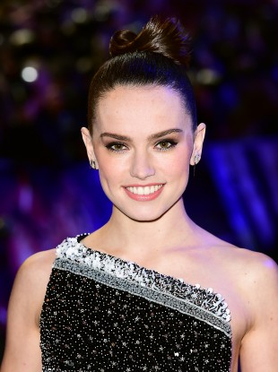 One of the film's leads Daisy Ridley