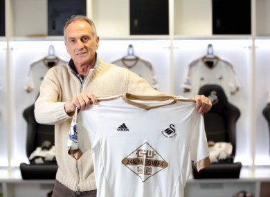 Guidolin was unveiled today.