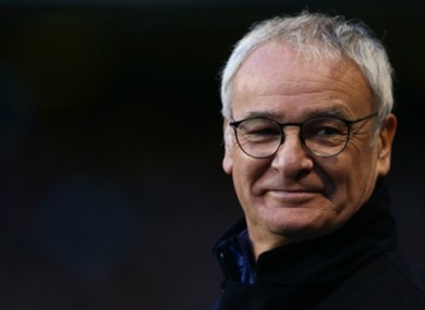 Claudio Ranieri has guided Leicester to the top of the Premier League.