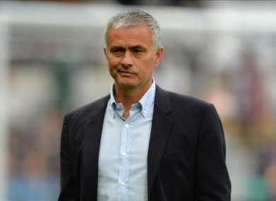 Jose Mourinho has been heavily linked with the Man United job in recent months.