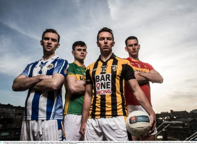 Andrew Kerin, Michael Quinlivan, Tony Kernan and Barry Moran will be vying for final spots this weekend.