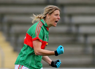 Cora Staunton was outstanding for Mayo once again.