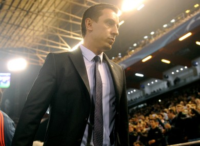 Valencia coach Gary Neville is under pressure following a series of poor results.