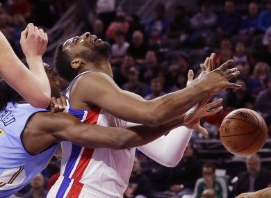 Andre Drummond is fouled.