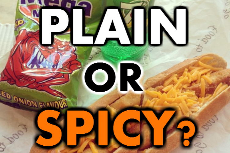 This Quiz Will Determine If Youre Plain Or Spicy The Daily Edge