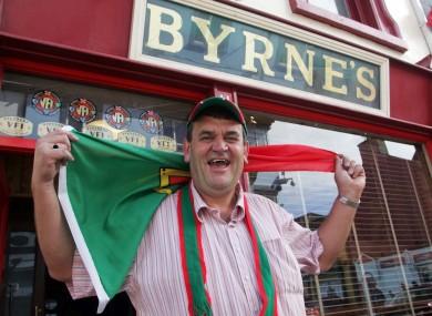 Mick Byrne in 2006.