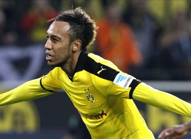 ierre-Emerick Aubameyang has enjoyed a prolific season with Dortmund.