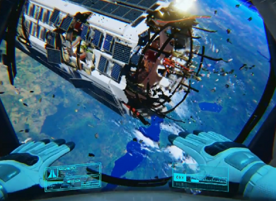 Adrift, one of the launch games for the Oculus Rift.