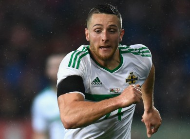 Northern Ireland forward Conor Washington was on target tonight.