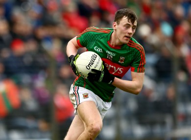 Diarmuid O'Connor will be a key man for the Mayo U21 side.