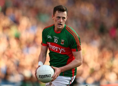 Diarmuid O'Connor was amongst the goalscorers for Mayo today.