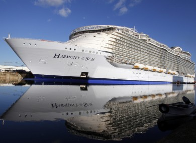 The Largest Cruise Ship In The World Has Set Sail Heres What It - Largest cruise ship of the world