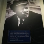 A quote from Lenin in the entrance hall.