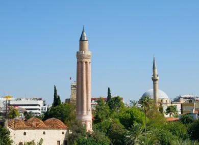 Analya in Turkey