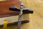 'The toilets were absolutely full of crucifixes': Two elderly people arrested over theft of religious items