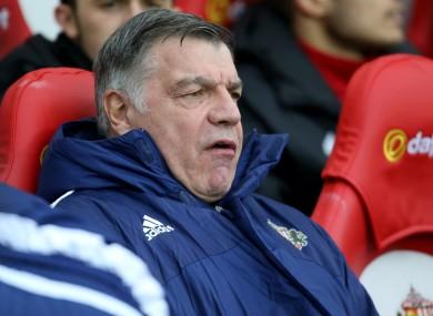 Sunderland boss Sam Allardyce.