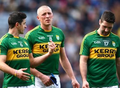 Aidan O'Mahony, Kieran Donaghy and Bryan Sheehan all start.