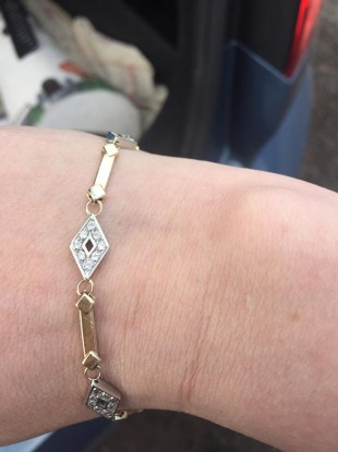 A bracelet similar to the one that went missing.
