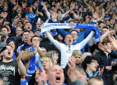 Leicester City fans could have to pay way over the odds to see their team lift the Premier League trophy.