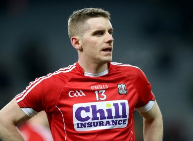 Daniel Goulding starts in attack for Cork on Sunday.