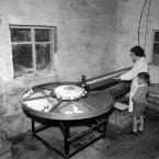 The delights of an egg-sorting machine, 12 September 1956<span class=