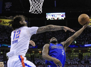 Steven Adams and Raymond Felton played key roles in last night's action.
