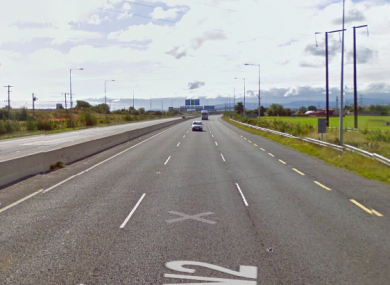 The N2 Road in the north of Dublin