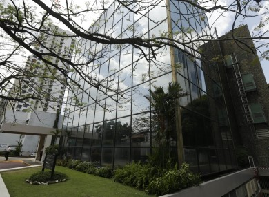 A view of the Arango Orillac Building where offices of the Mossack Fonseca law firm are located, in Panama City.