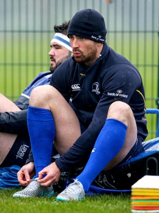 Rob Kearney: last Leinster appearance was against Wasps in late January.