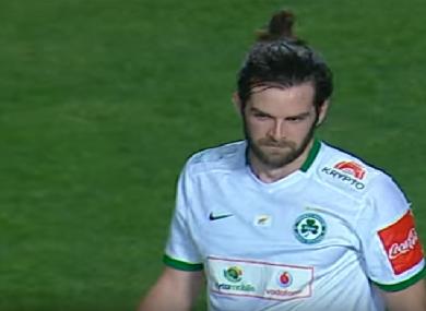 Cillian Sheridan has scored 14 league goals so far in Cyprus this season.