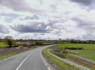 The area near Piercetown in Co Meath.