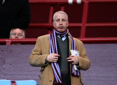 Randy Lerner still wants to sell Aston Villa.