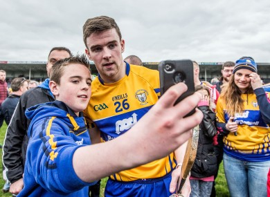 Tony Kelly proved popular after the game.