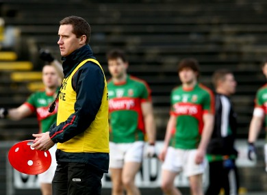 Tony McEntee is in his first season involved with the Mayo senior squad