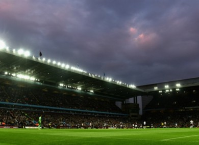 Aston VIlla will be playing in England's second tier next season.