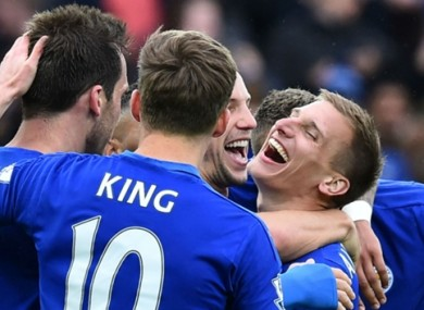 Leicester could be crowned Premier League champions this evening.