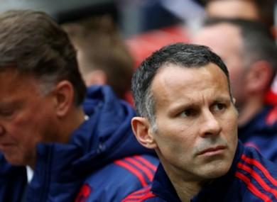 Giggs has spent the last two seasons as Louis van Gaal's assistant.