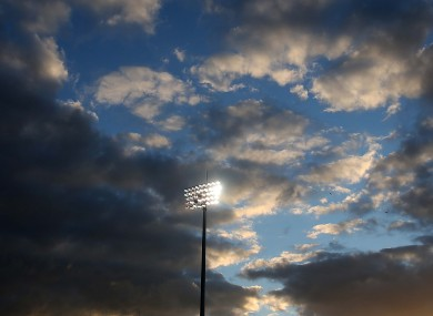 Drugs test are infrequent at League of Ireland matches and almost unheard of at training sessions (file photo).
