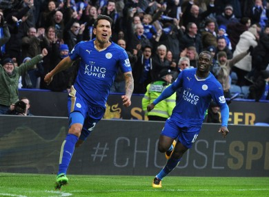 Leicester have won the Premier League with two games to spare.