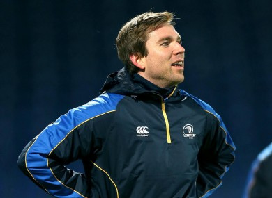 Davey has become an integral member of the Leinster set-up.